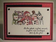 Holiday Lineup Fun! by Just Because - Cards and Paper Crafts at Splitcoaststampers