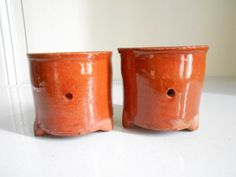 Lovely pair of cheese strainers French antique by Birdycoconut
