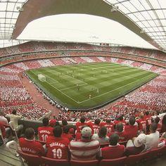 The first ever game at Emirates Stadium. July 22, 2006. Dennis Bergkamp's testimonial.