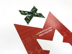 The finest print solutions in foil blocking, duplexing, thermography, die cutting and embossing Christmas Kiss, Windmill, Symbols, Letters, Prints, Design, Art, Art Background, Kunst