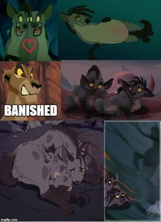 The Janja Abandoned Theory by The Lion King 1994, Lion King Fan Art, Lion King 2, Disney Lion King, Disney Au, Disney Fan Art, Disney And Dreamworks, Disney Pixar, Lion King Quotes