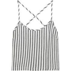 Kain - Saffron Striped Twill Camisole