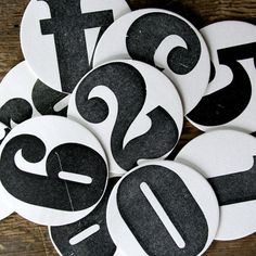 """oooh!:) LOOVE These!  Martha Stewart Living featured these coasters as """"a dose of modern design."""""""