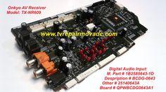 Onkyo Digital Audio Input: 1B2585643-1D. QPWBCDG0643A1 / Tested #Onkyo