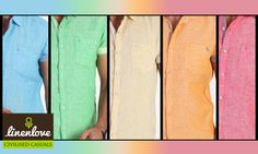Why settle for one #colour when you have so many options!  Shop now at: http://www.linenlove.in/