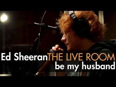 "Ed Sheeran - ""Be My Husband"" (Nina Simone cover) captured in The Live Room <3 I LOVE Ed Sheeran <3 *swoons* that vooiiicceeee, that haaaiiirrr, that faaacccceeee <3 GUH @__@ lol *done ed sexy rant*"
