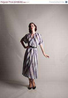 25 OFF  Vintage 1950s Dress  Plus Size 50s by concettascloset