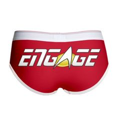 ENGAGE: Star Trek Womens Boy Brief on CafePress.com