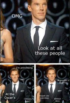 Ben at the Oscars