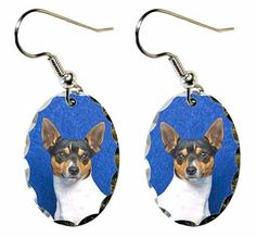 Amazon.com: Toy Fox Terrier Earrings: Everything Else