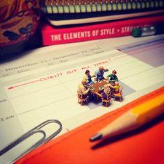 Agency Life: Photos by Derrick Lin #photography #miniature