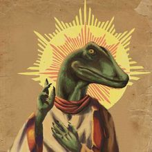 His Holy Noodleyness and Raptor Jesus /via reddit #awesome
