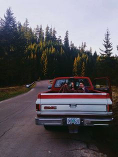 caramiaphotography:  Oregon adventures snuggled in the back of our truck.