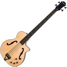 Epiphone Zenith Acoustic Bass Guitar, Antique Natural