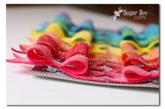Glitter Felt Hairbows - Sugar Bee Crafts