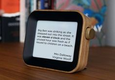 Literary Quotes, Cool Gadgets, Clock, Author, Watch, Clocks, Writers, Cool Tech Gadgets, Cool Tools