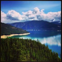 Lake Koocanusa Libby,Montana 6-28-2015