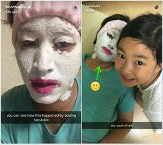 For the love of a daughter source: blo snap Tablo Epik High, Kang Hye Jung, Lee Haru, Superman Cast, Korean Tv Shows, Bts Funny Moments, Meme Faces, Kdrama, It Cast