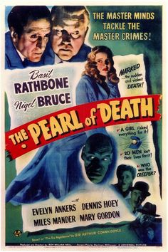 The Pearl of Death 11x17 Movie Poster (1944)