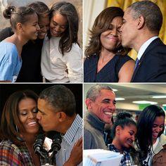 Mr and mrs obama
