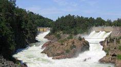 Wasserfall in Westschweden