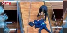 Parlamentosuda şok anlar! Beyin kanaması geçirdi : Birleşik Krallık Bağımsızlık Partisinin Avrupa Parlamentosu üyelerinden Steven Woolfe parti toplantısında yumruklandıktan sonra beyin kanaması geçirdi.  http://ift.tt/2dVNRc8 #Dünya   #geçirdi #kanaması #Woolfe #Steven #üyelerinden