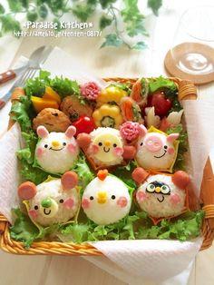 Kawaii food art
