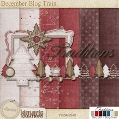 kimeric kreations: December Blog Train and New Releases are here!