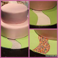 Princess Castle Cake - made by me…a regular Mum!