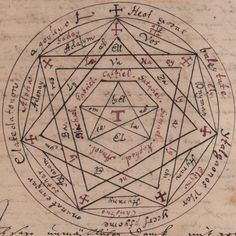 The Sigillum Dei (seal of God, or signum dei vivi, symbol of the living God, called by John Dee the Sigillum Dei Aemaeth) was a late Middle Ages magical diagram, composed of two circles, a pentagram, and three heptagons, and is labeled with the name of God and his angels. It was an amulet (amuletum) with the magical function that, according to one of the oldest sources (Liber iuratus), allowed the initiated magician to have power over all creatures except Archangels, but usually only…