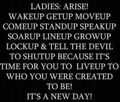 LADIES!!!!!