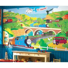 Thomas The Train Xl Wall Mural