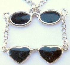 Double Sunglasses Necklace by CrashsCuriosities on Etsy, $11.00