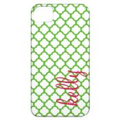 Personalized cell phone cases by WH Hostess: Green Clover Cell Phone Case