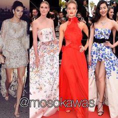 Mosokawas - Fashion Reviews Four Ladies Mosokawas Look: Best Dressed Red Carpet Cannes 2016! Photos: 1- @kendalljenner wearing @eliesaabworld; 2- @sofievalkiers wearing @georgeshobeika; 3- @rosiehw wearing @alexandrevauthier; 4- @liuwenlw wearing @giambattistapr #mosokawas #lookdodia #lookoftheday #moda #estilo #style #fashion #pinterest #cannes2016 #cannes #redcarpet #kendalljenner #eliesaab #eliesaabworld #liuwenlw #giambattistavalli #sofievalkiers #georgeshobeika #rosiehw…