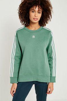 adidas sweat femme vert