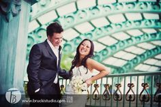 Wedding photography at Paris, Las Vegas.