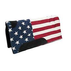 Patriotic Wool Western Saddle Pad.  $54.99