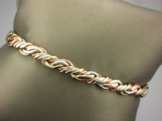 Woven Copper Magnet Bracelet from Sergio Lub