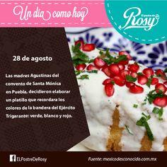 Chiles en nogada #eating #Postres #Puebla www.facebook.com/ElPostreDeRosy