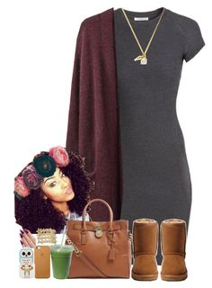 """""""Brown skin & Beauty within.! ㊗️❎✨"""" by je-mimi ❤ liked on Polyvore featuring H&M, Acne Studios, UGG Australia, MICHAEL Michael Kors, Juicy Couture, Meadham Kirchhoff, Forever 21 and VidaKush"""