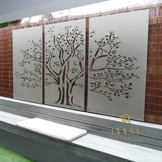 Details about Tree of Life Triptych - DIY Decorative Screens Indoor / Outdoor Garden Wall Art Wall Art outdoor wall art Indoor Outdoor, Outdoor Wall Art, Outdoor Walls, Outdoor Screens, Outdoor Living, Metal Garden Screens, Outdoor Decorative Screens, Outdoor Wall Decorations, Patio Wall Decor