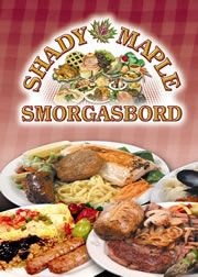 All your favorites plus some new dishes, hot and ready for your dining pleasure. Some of Lancaster County's finest cooks prepare foods in the traditional Pennsylvania Dutch way.     Shady Maple Smorgasbord | Pennsylvania Dutch Country | Lancaster, PA