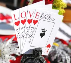 Queen of Hearts Valentine Printable Party Pack - DIY