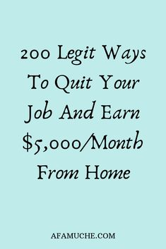 Make Money Fast, Make Money Blogging, Make Money From Home, Make Money Online, Making Money Teens, Life Coaching Tools, Quitting Your Job, Financial Tips, Self Discovery