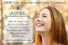 Savings Rewards on Fillers and DysportBetter Plastic Surgery