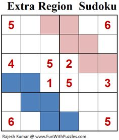 Extra Region Sudoku (Mini Sudoku Series #83)