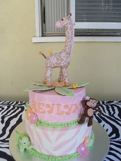 """Our little girls room is going to be """"Jungle Jill"""" and they have a cake for it! I love it!"""