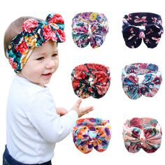 Hip Mall® Soft Adorable Baby Headbands Flowers Bling Bows Hair Hoops -- You can get more details by clicking on the image.