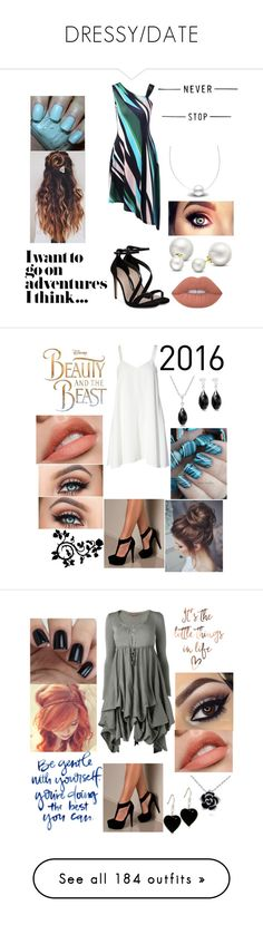 """""""DRESSY/DATE"""" by rngriffis02 ❤ liked on Polyvore featuring Carvela, Hard Candy, Allurez, Finders Keepers, Disney, Phase Eight, Draper James, WALL, Urban Outfitters and Marc Jacobs"""